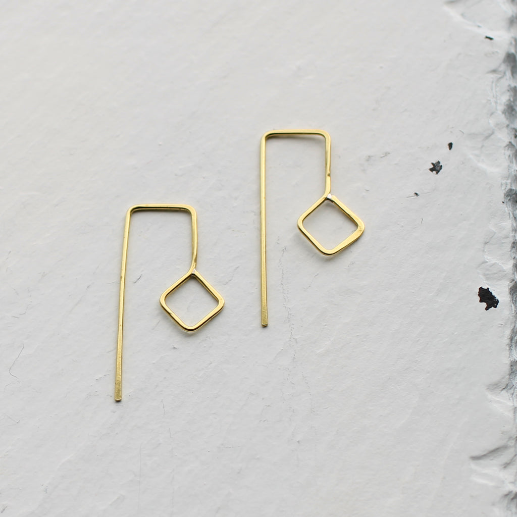 Modern Geometric Earrings -