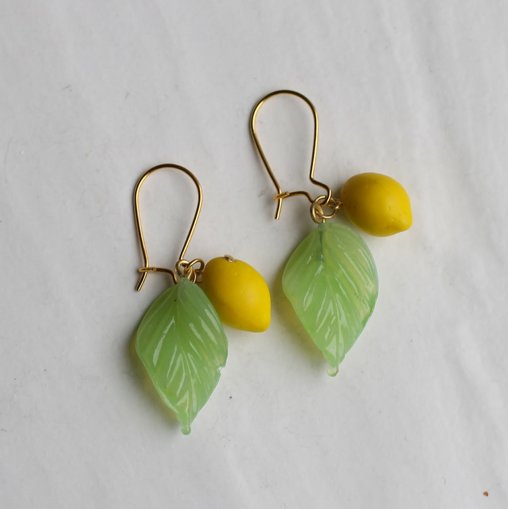 Lemon Earrings - Earrings
