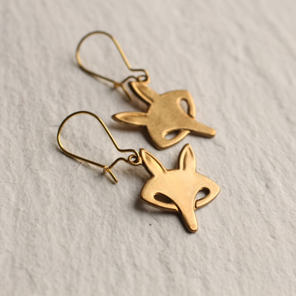 Fox Earrings - Earrings
