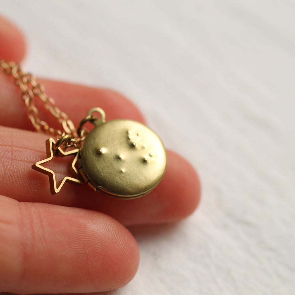 Tiny Constellation Locket -