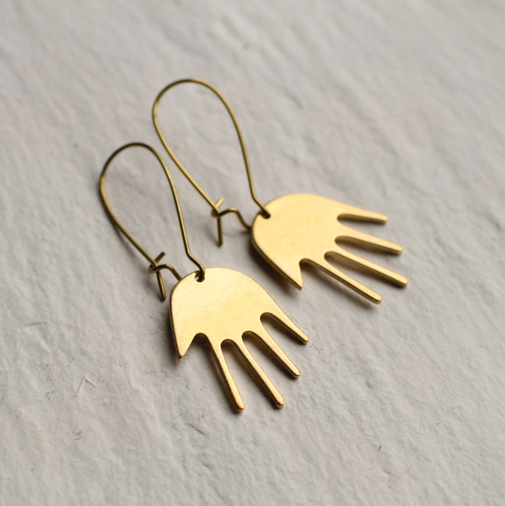 Hand Earrings - Earrings
