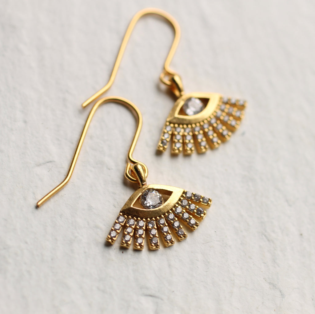 Egyptian Eye Earrings - Earrings