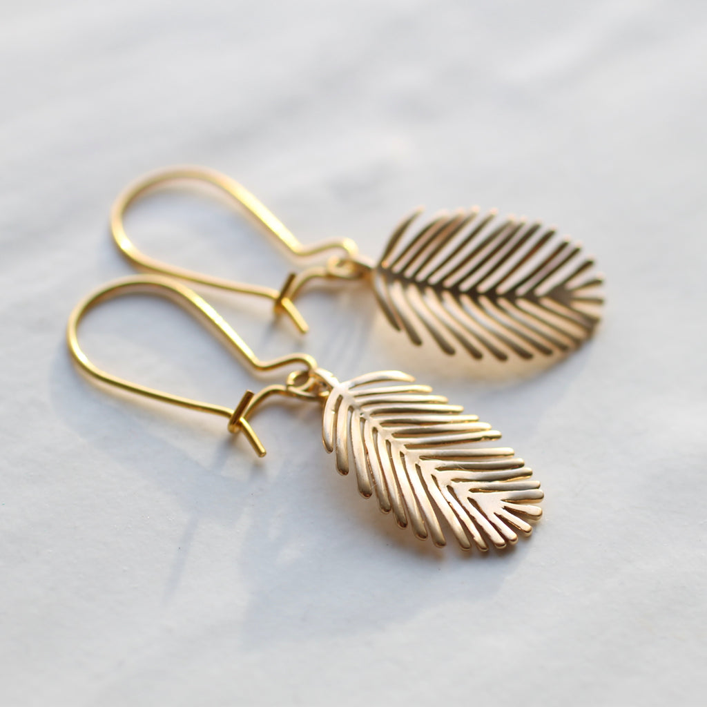 Feather Earrings - Earrings