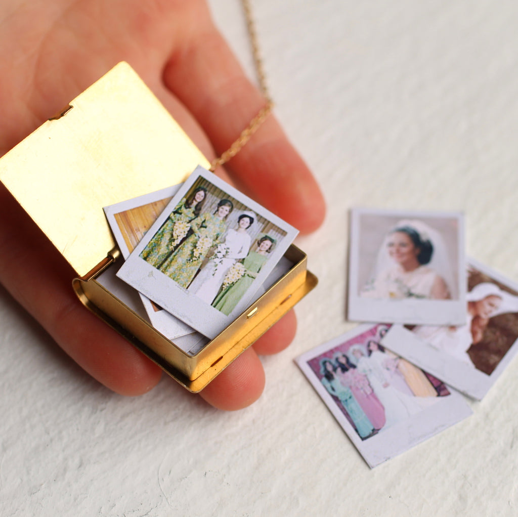 Polaroid Family Album Locket - Necklaces