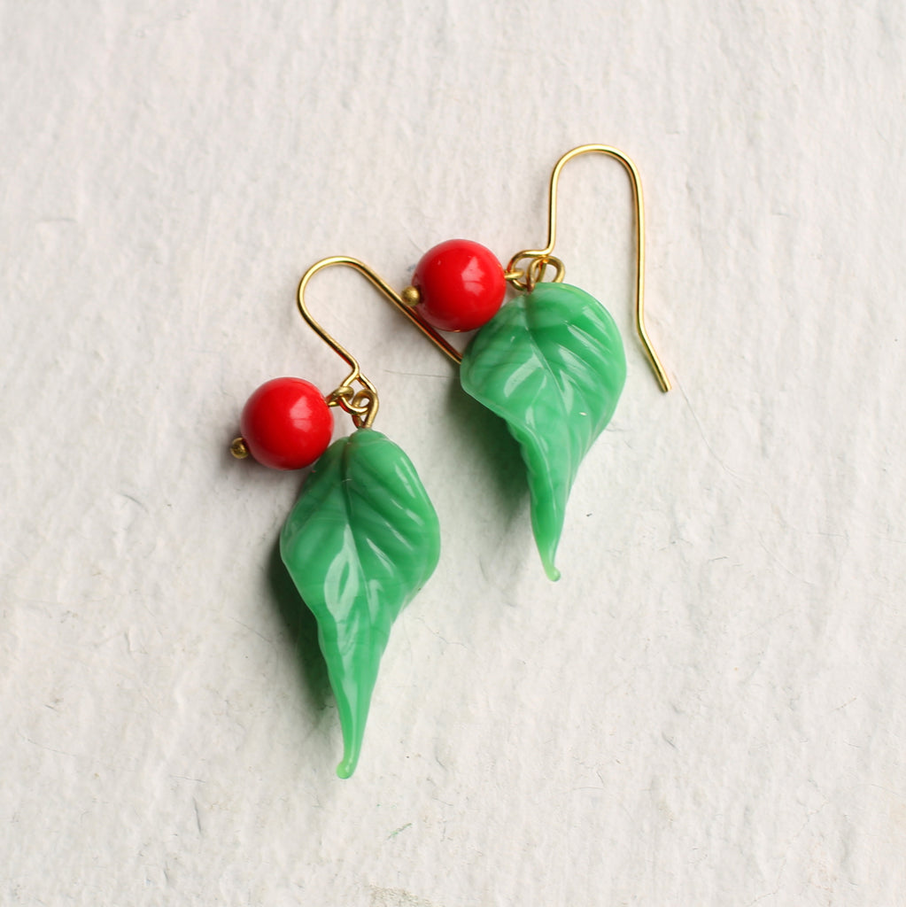 Poison Apple Earrings - Earrings