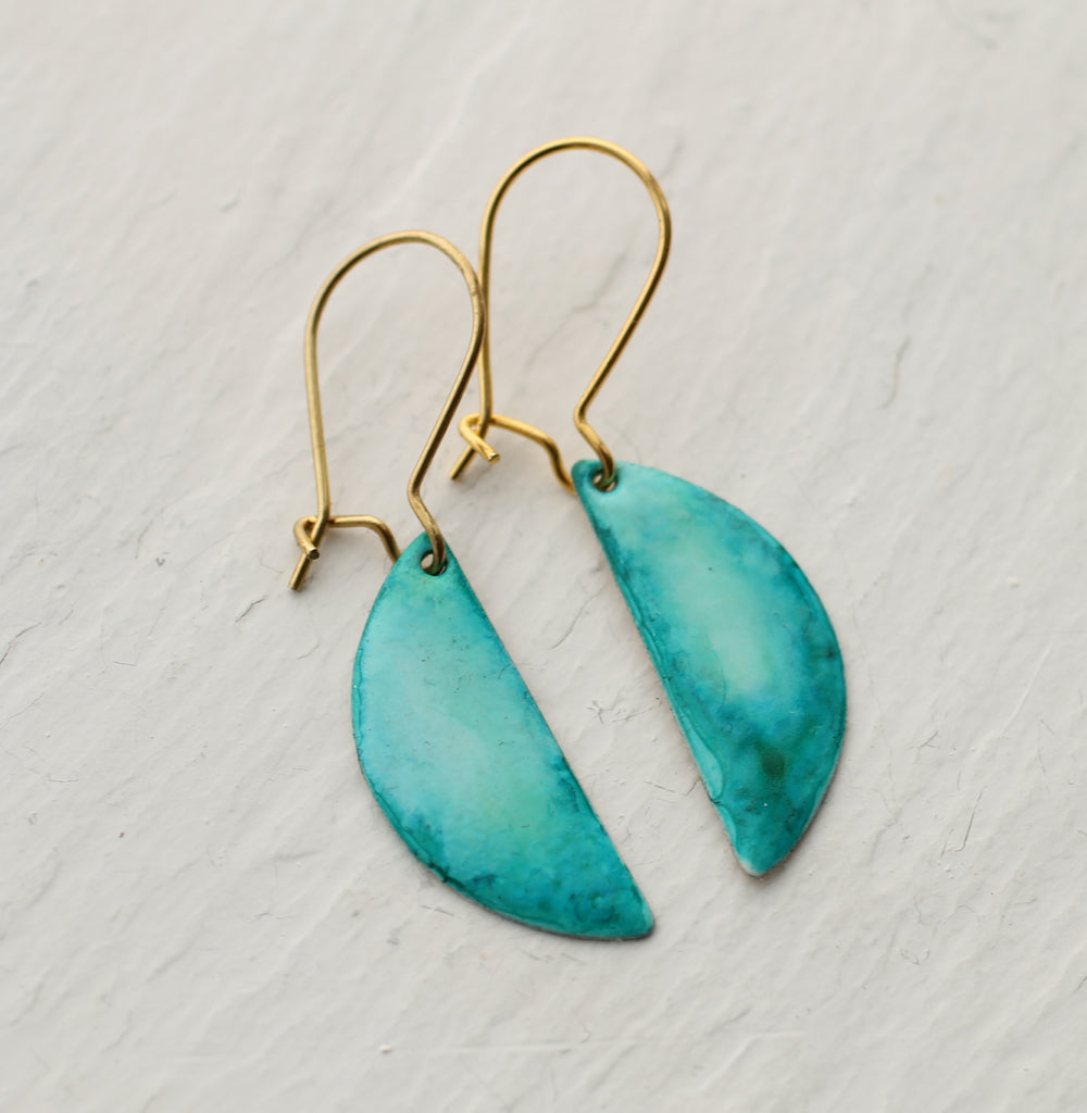 Turquoise Pool Party Earrings - Earrings