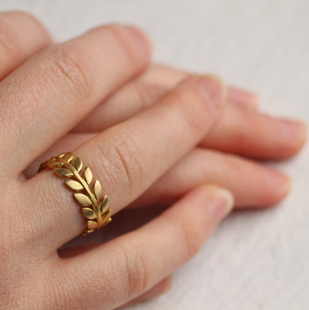 Leaf Ring - Rings