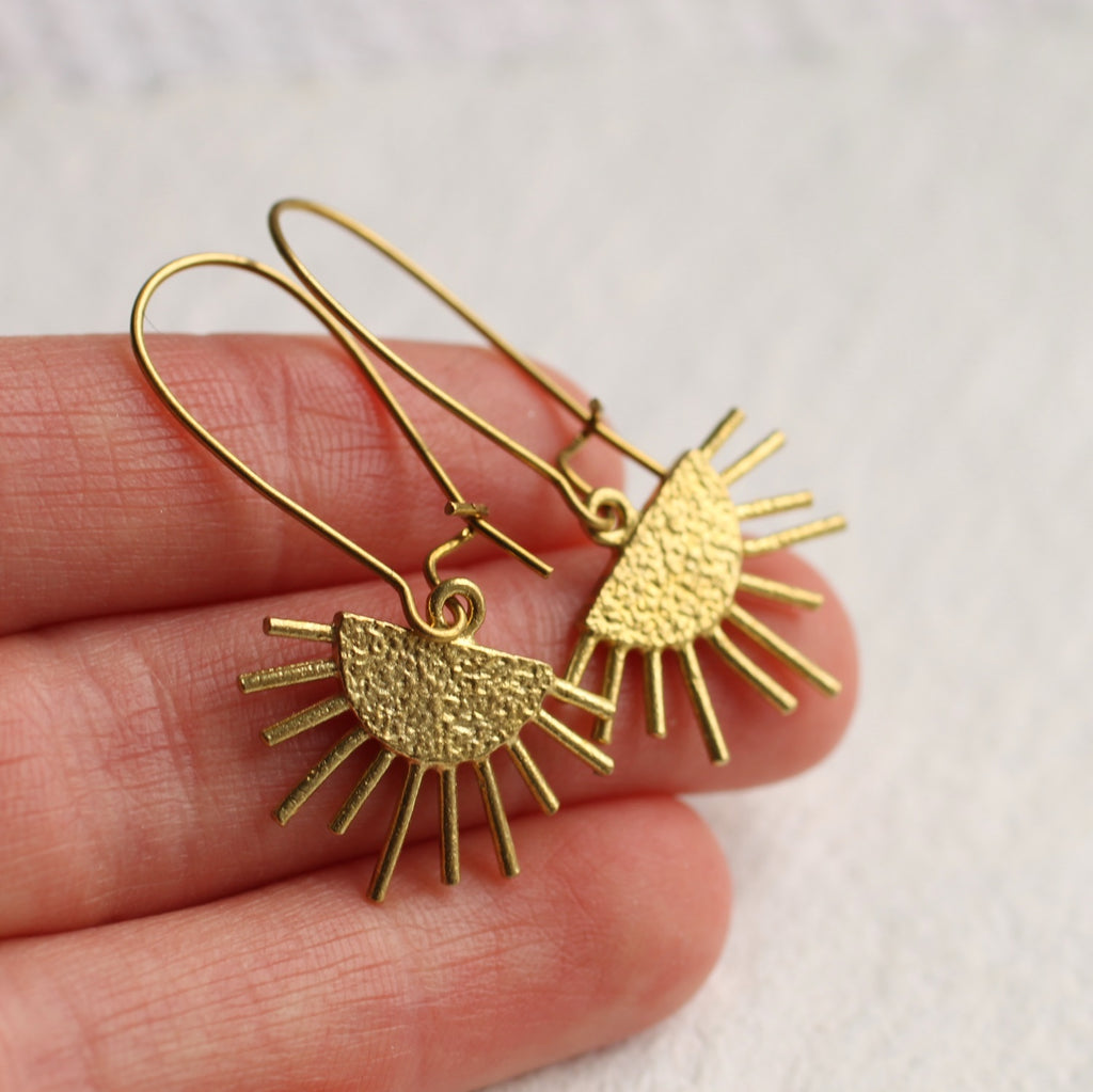 Sunburst Earrings -