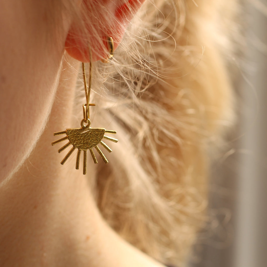 Sunburst Earrings - Earrings