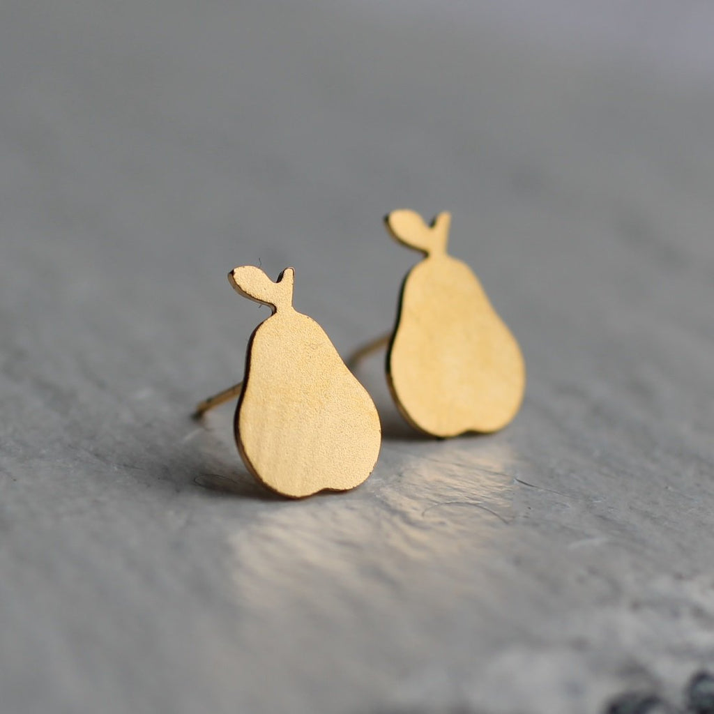 Pear Earrings - Earrings