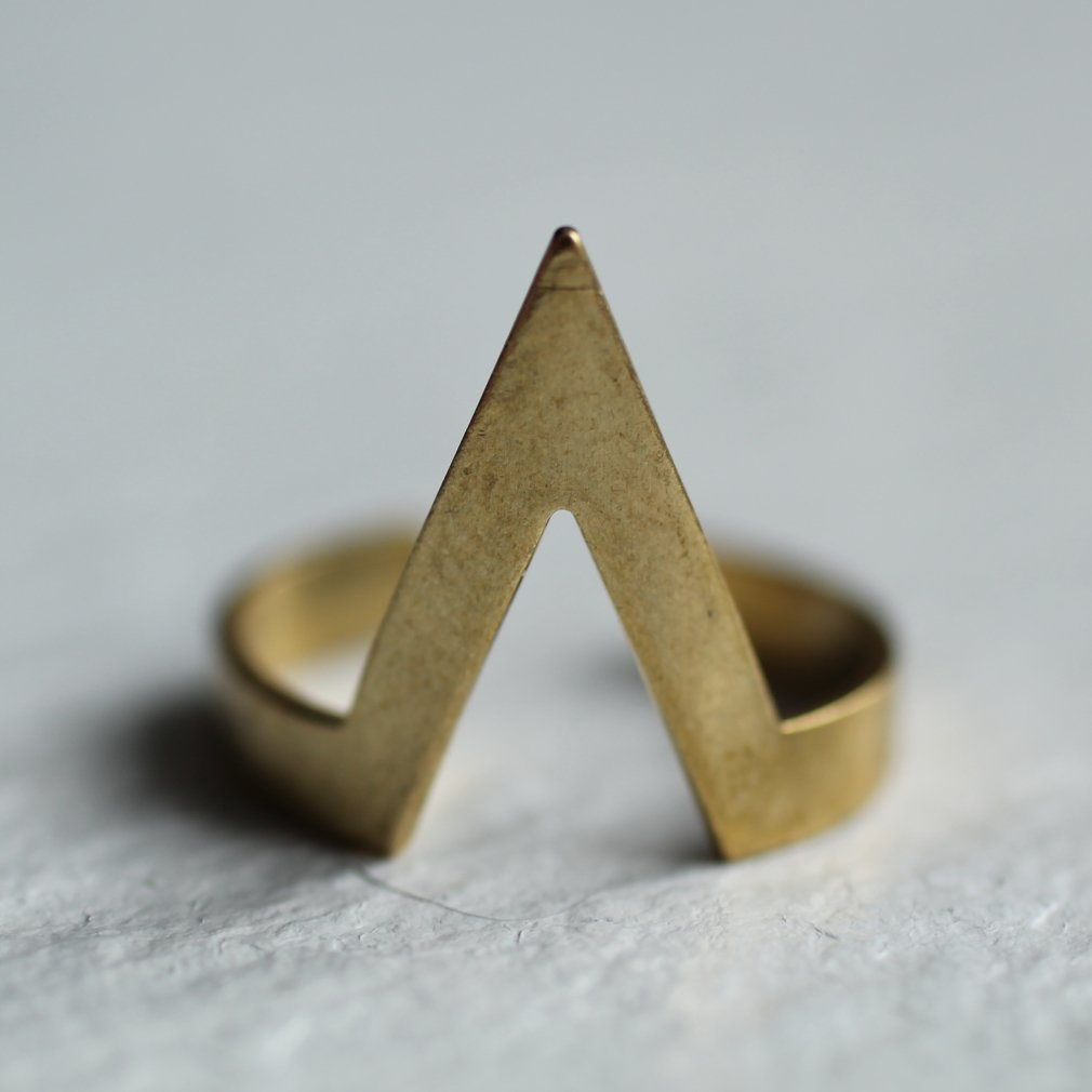 Geometric Mountain Ring
