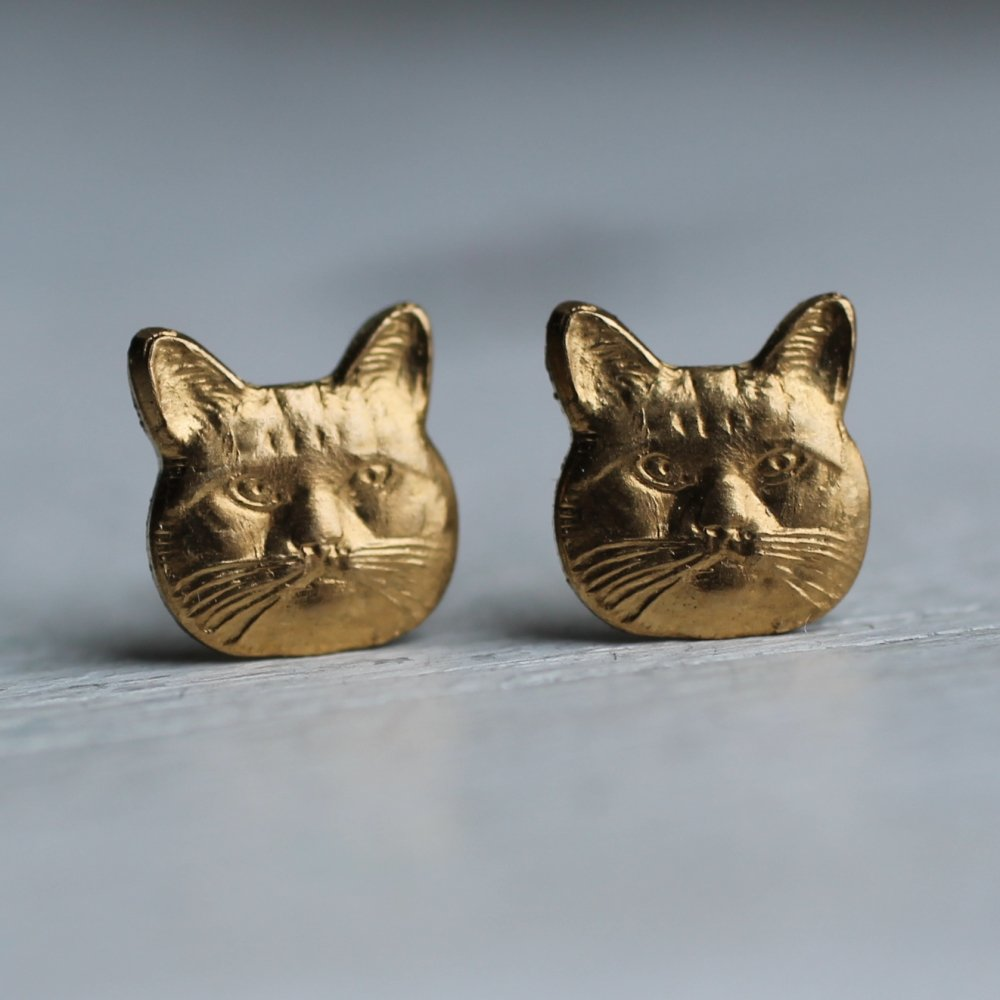 Cat Lady Earrings - Earrings