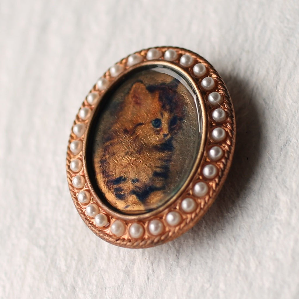 Pet Portrait Brooch