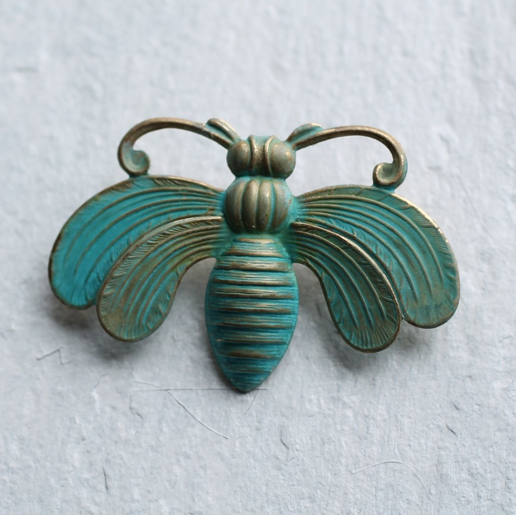 Bee Brooch - Brooches & Pins