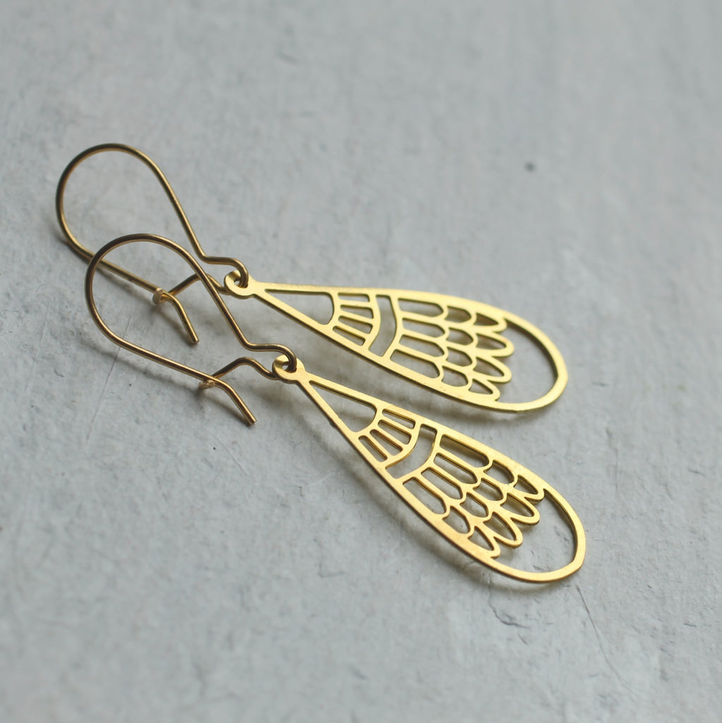 Modern Filigree Earrings - Earrings