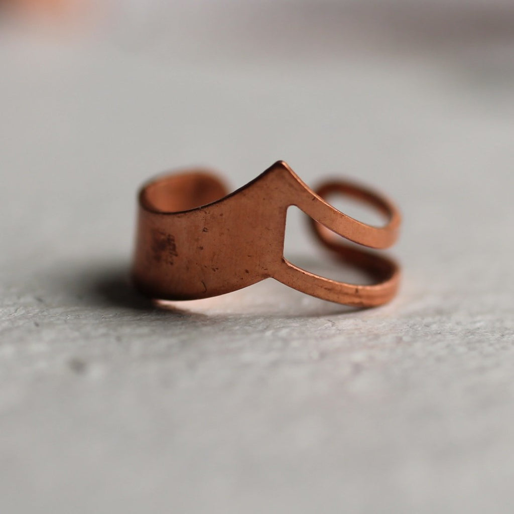 Copper Mountain Ring - Rings