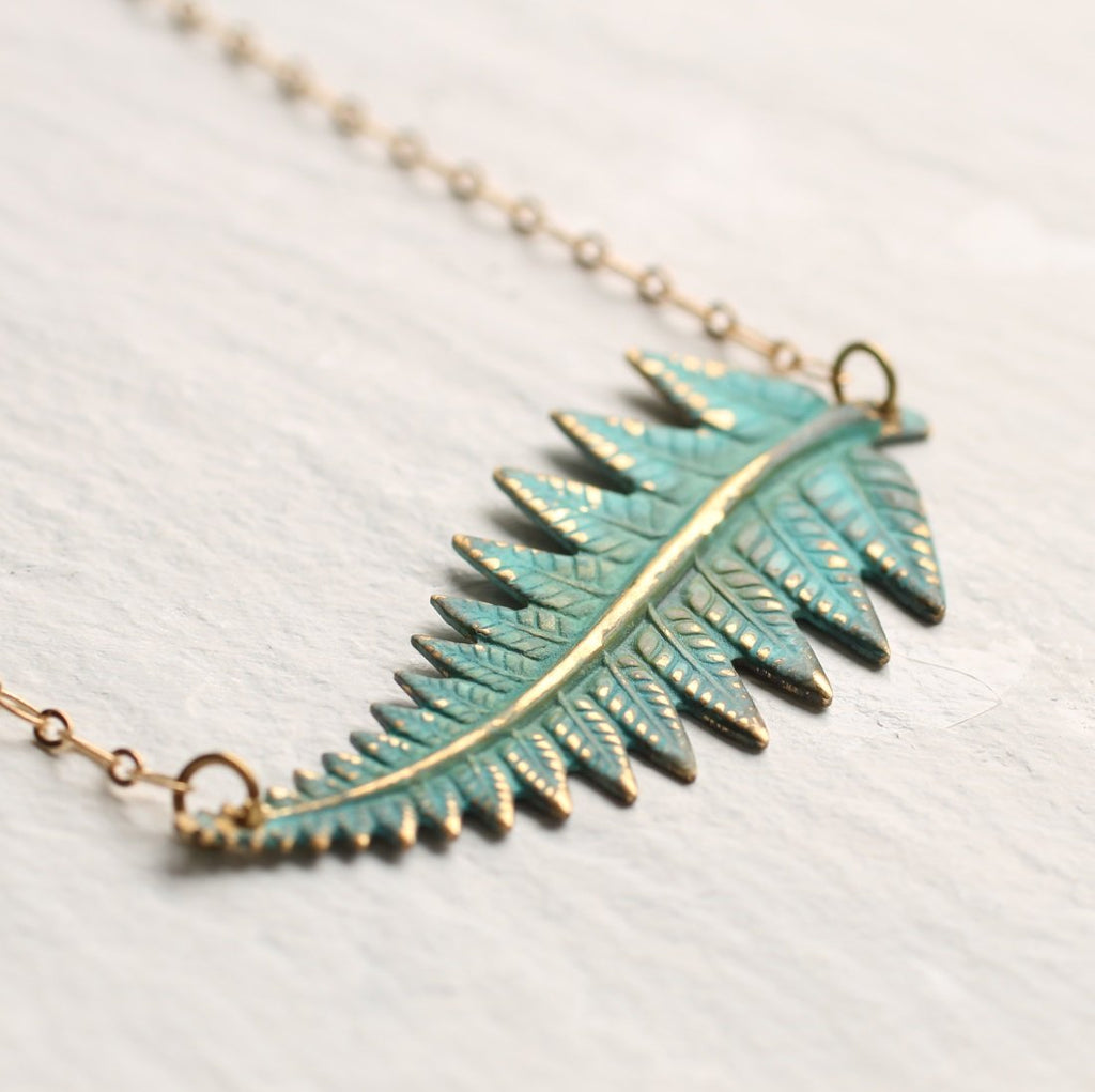 Fern Necklace - Necklaces