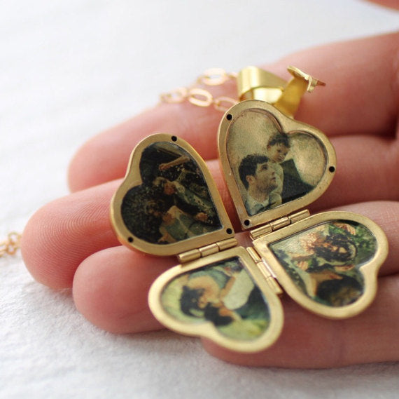 Friends & Family Locket - Necklaces