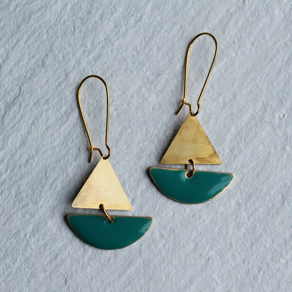 Sailing Boat Earrings - Earrings