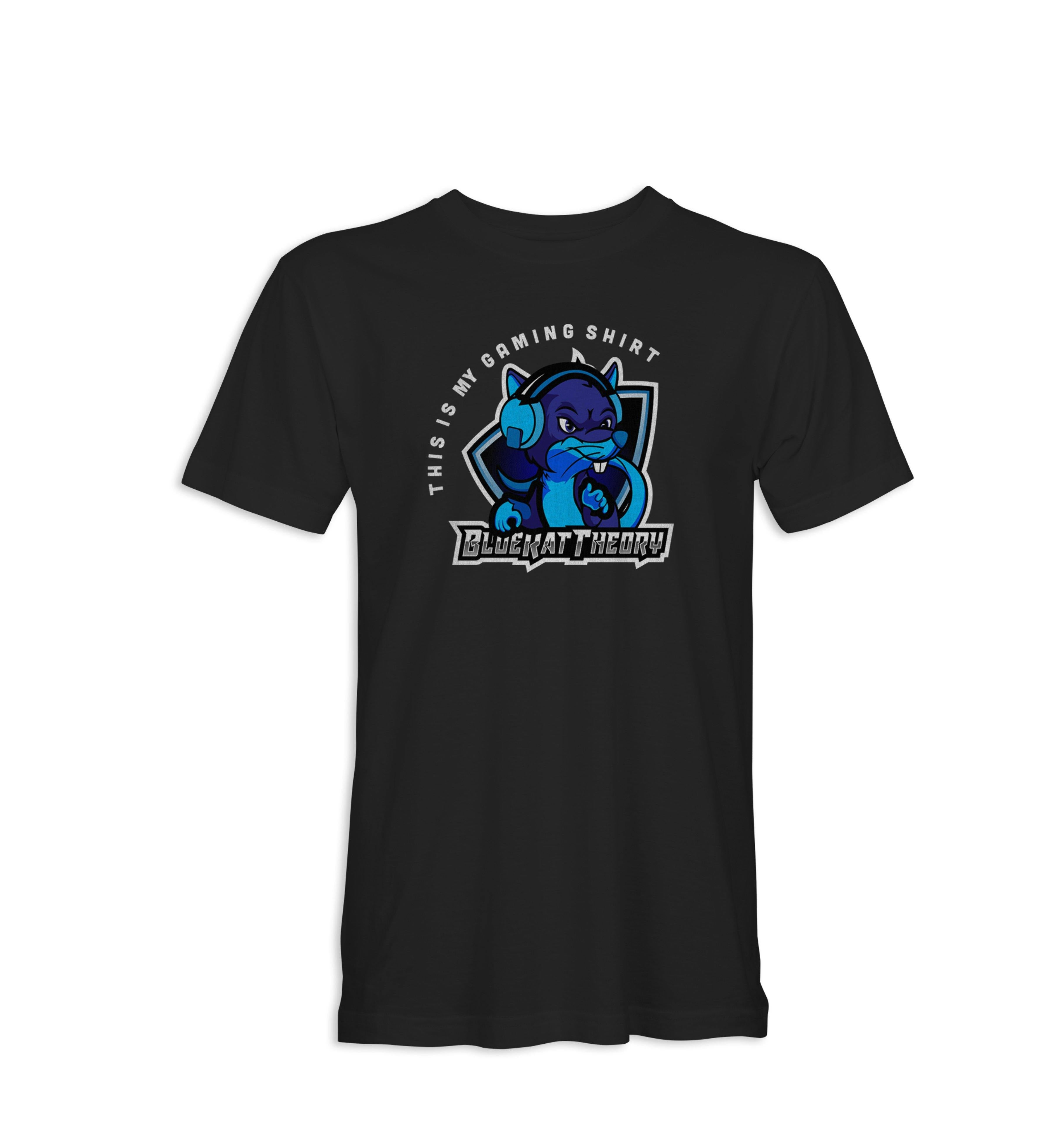 Blue Rat Theory - Gaming Tee - Shops by Green Gorilla