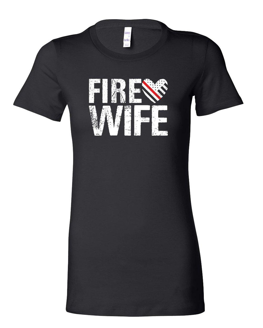 First Responder: Fire Wife Tee - Shops by Green Gorilla