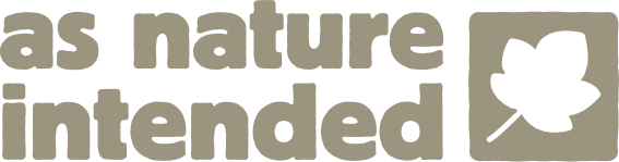 As Nature Itended Logo