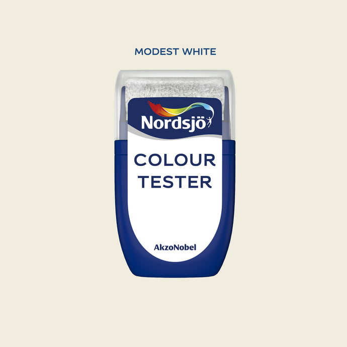 Colour Tester i kulör Modest White