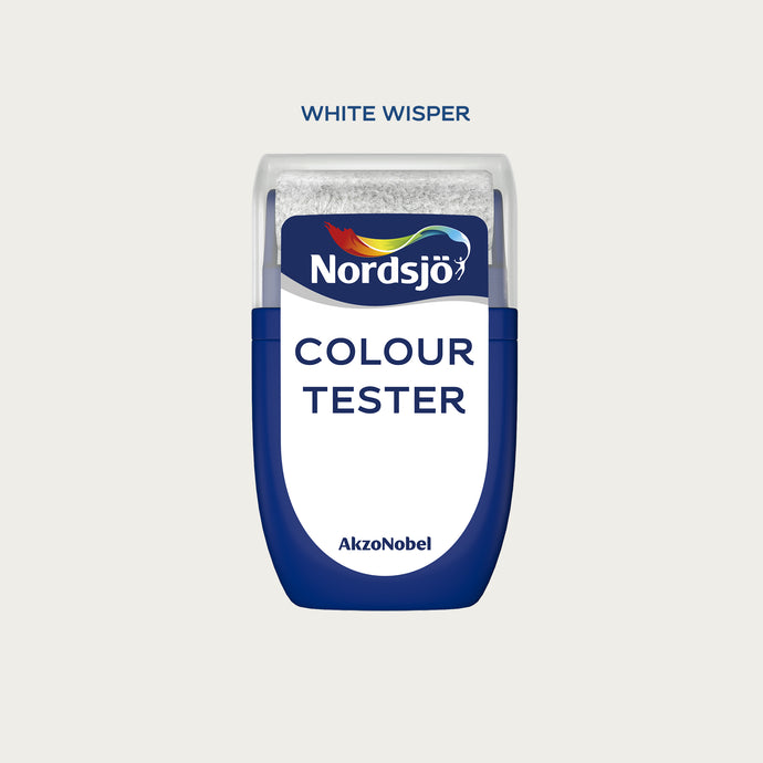 Colour Tester i kulör White Wisper