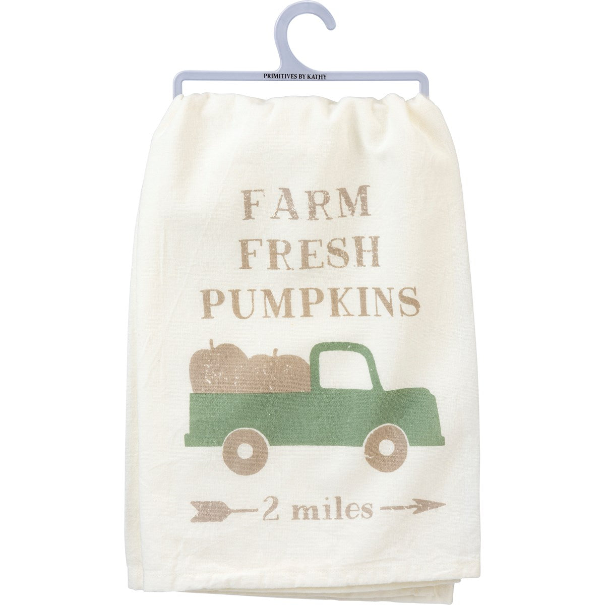 Fresh Pumpkins Tea Towel