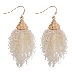 Fringe Tassel Dangle Earrings