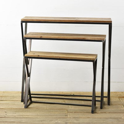Set of 3 Modern Nesting Tables