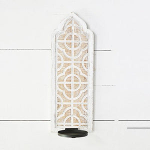 Modern Cottage Candle Sconce