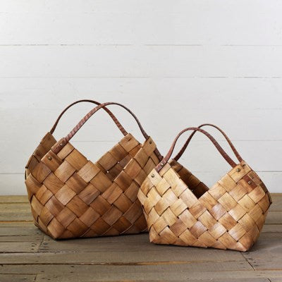 Loft Wood Baskets