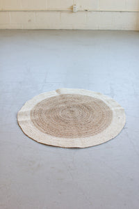 Natural Braided Seagrass Rug