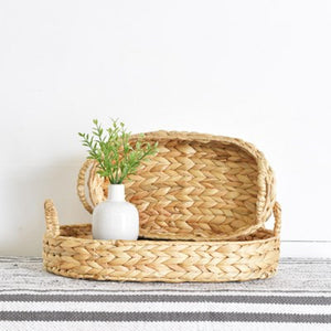 Natural Woven Seagrass Trays