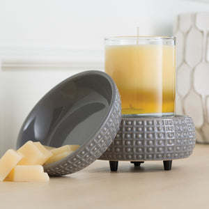 Slate Candle 2-in-1 Classic Fragrance Warmer
