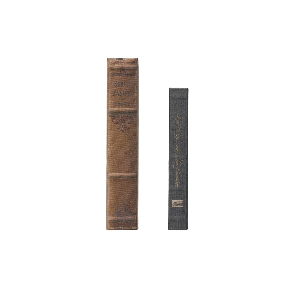 Book Storage Boxes, Set of 2