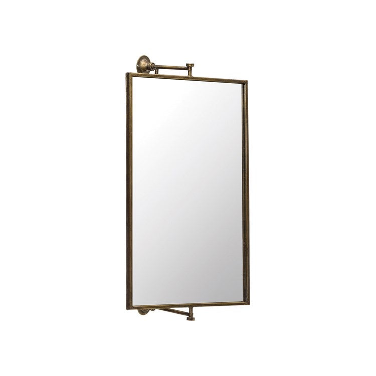 Swivel Metal Wall Mirror