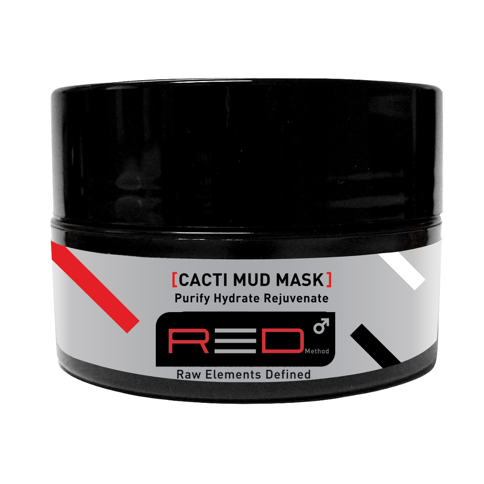 Red Method - Cacti Mud Mask for Men