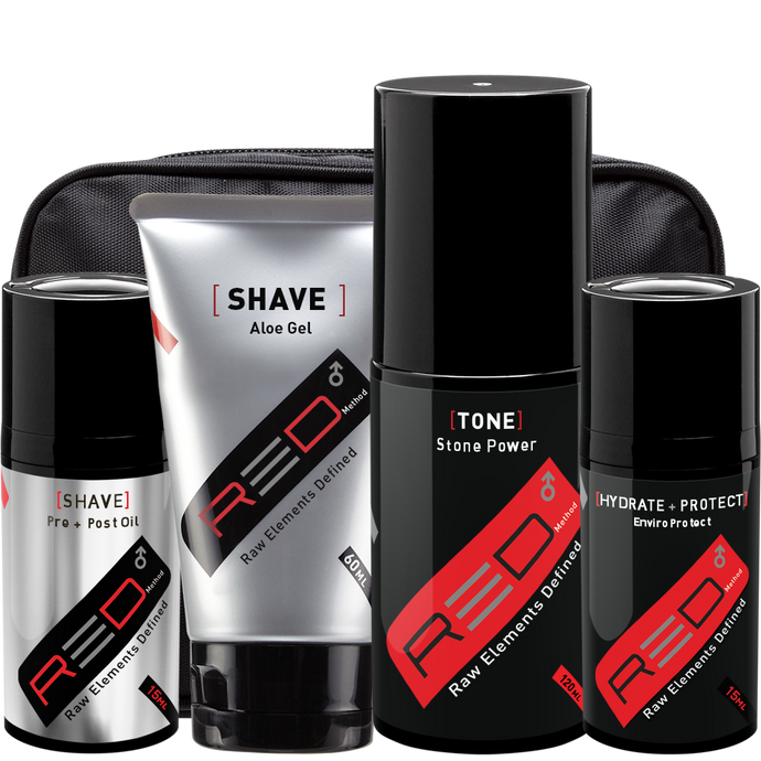 Red Method - Cor Shave Kit for Men