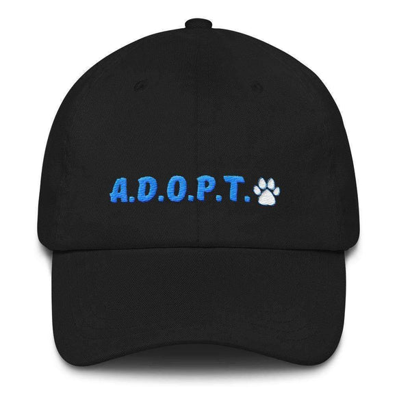 A.D.O.P.T. pets classic dad hat - pet fetchers shop