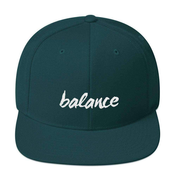 balance snapback hat - pet fetchers shop