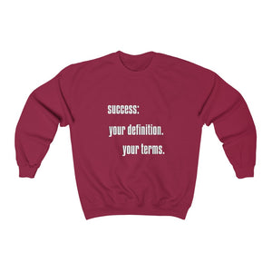 success v2 sweatshirt - pet fetchers shop