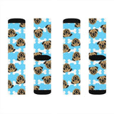 pug socks - pet fetchers shop