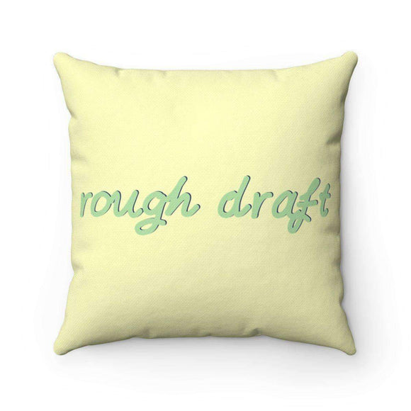 rough draft pillow - pet fetchers shop