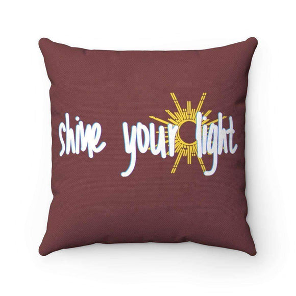 shine your light pillow - pet fetchers shop