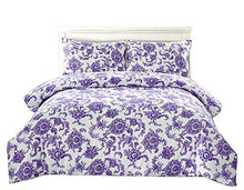 Load image into Gallery viewer, Couture Home Collection Floral Dream 3 pcs - HeirOasis Emporium
