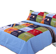 Load image into Gallery viewer, Home Collection Fun Print Kids Quilt Set - HeirOasis Emporium