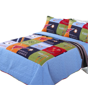 Home Collection Fun Print Kids Quilt Set - HeirOasis Emporium