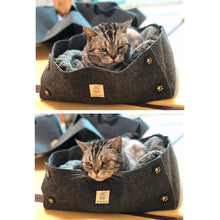Load image into Gallery viewer, Comfortable Durable Cat Bed Nest Collapsible Pet - HeirOasis Emporium